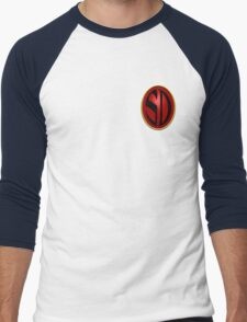 Search/Destroy Agency Badge Men's Baseball ¾ T-Shirt
