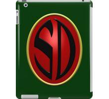 Search/Destroy Agency Badge iPad Case/Skin