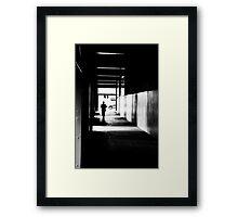 Lone Figure  Framed Print