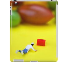Chef Tumbled In Front Of Colorful Tomatoes miniature art iPad Case/Skin