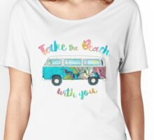 Take The Beach With You Women's Relaxed Fit T-Shirt