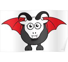 Vampire Grover Goat Poster