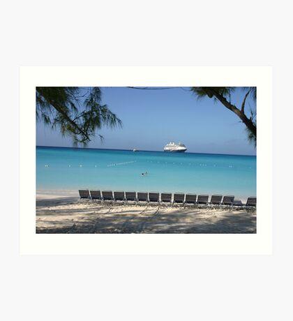 Half Moon Cay - Carribean Cruise Art Print