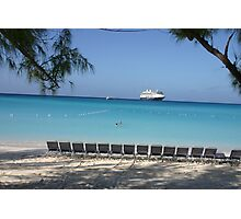 Half Moon Cay - Carribean Cruise Photographic Print