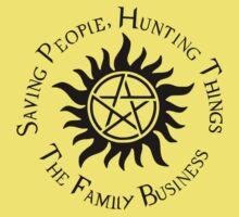 Supernatural Family Business Kids Tee