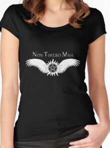 Supernatural Non Timebo Mala v2.0 Women's Fitted Scoop T-Shirt