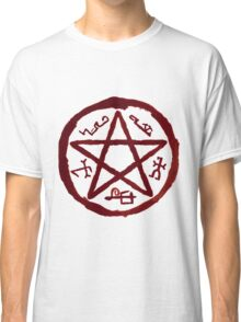 Supernatural Devil's Trap v2.0 Classic T-Shirt