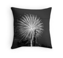 Firework 12 Throw Pillow