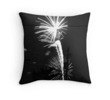 Firework 14 Throw Pillow