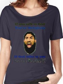 Talking to God Women's Relaxed Fit T-Shirt