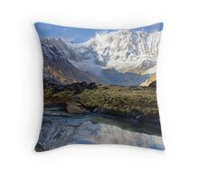 Astonishing Annapurna Throw Pillow