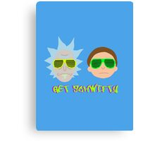Rick and Morty - Get Schwifty Canvas Print