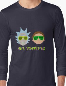 Rick and Morty - Get Schwifty Long Sleeve T-Shirt