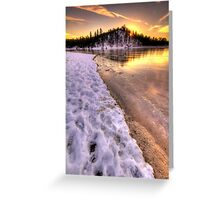 Hot Ice Greeting Card