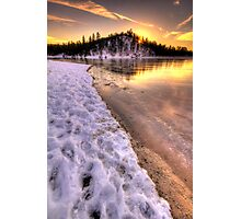 Hot Ice Photographic Print