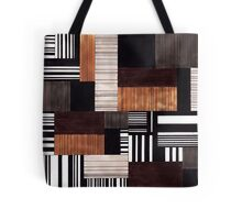 Striped blocks with a hint of sweets Tote Bag