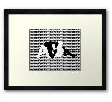 Kimura Arm Lock MMA Mixed Martial Arts  Framed Print