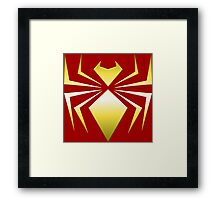 Iron Spider Framed Print