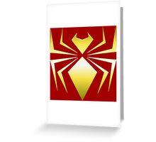 Iron Spider Greeting Card