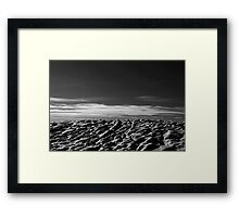 Snow and Sky Framed Print