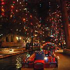 San Antonio Riverwalk in December by Cathy Jones