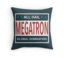 All Hail Megatron Throw Pillow