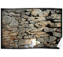 stone walls Poster