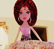 CUTE DOLL BAKING CAKE KIDS APPAREL>>PILLOWS,JOURNAL,BOOKS,TOTE BAG,SKIRT,SCARF,ECT. by ✿✿ Bonita ✿✿ ђєℓℓσ