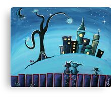 No Place Like Home - Whimsical Art by Valentina Miletic Canvas Print
