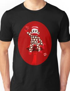 POKA DOT-SOCK MONKEY TROWING DICE-PILLOWS-JOURNAL-TOTE BAG-MUG-BOOKS-TEE SHIRT-ECT.. Unisex T-Shirt