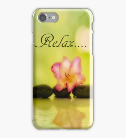 Relax 2 iPhone Case/Skin