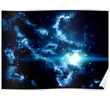 Universe Background Poster