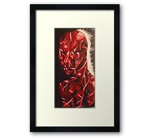 scarling Framed Print