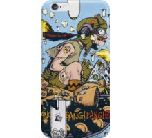 Tank Girl In A Plane! iPhone Case/Skin