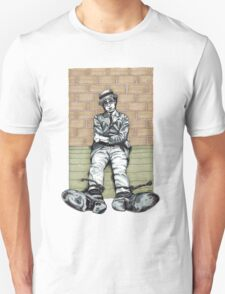 Harold Lloyd One of Those Days Drawing T-Shirt