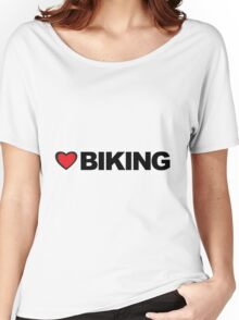 Love Biking Women's Relaxed Fit T-Shirt