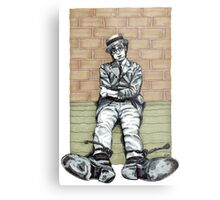 Harold Lloyd One of Those Days Drawing Metal Print