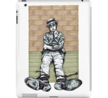 Harold Lloyd One of Those Days Drawing iPad Case/Skin