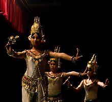 Cambodia Apsara 02 by Darren Wilch