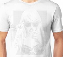 Can't see past my shades by Akademi Apparel Unisex T-Shirt