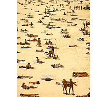 sunbathe bondi beach Photographic Print