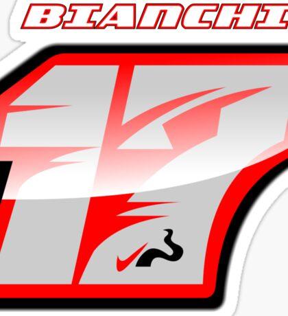 Jules BIANCHI_2014_#17_Helmet Sticker
