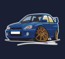 Subaru Impreza (2003-06) Blue Kids Tee