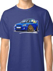 Subaru Impreza (2003-06) Blue Classic T-Shirt
