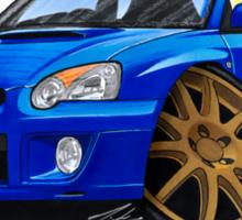 Subaru Impreza (2003-06) Blue Sticker