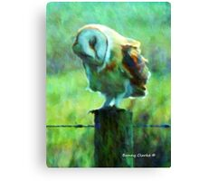 I Bow My Head Canvas Print