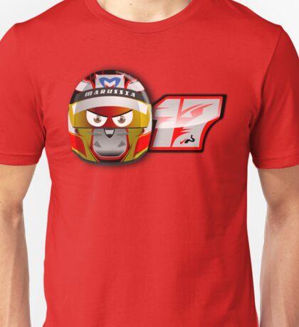 Jules BIANCHI_2014_Helmet Unisex T-Shirt