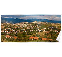 Bulgarian Village Panorama Poster