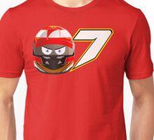 Kimi RAIKKONEN_2014_Helmet Unisex T-Shirt