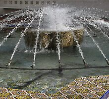 Water Fountain by Gloria Abbey